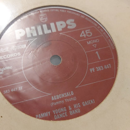 Pammy Young & His Gaieki Dance Band - Agbonsalo [Philips]
