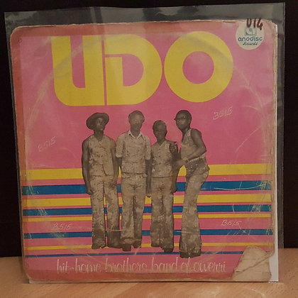 Hit-Home Brothers Band Of Owerri ‎– Udo [Anodisc]