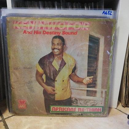 Ken Nwofor And His Destiny Sound – Africans Re-Think [RAS RASLPS 092]