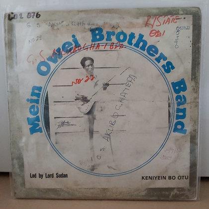 Mein Brothers Band - Keniyein Bo Otu [Inter Sonic]]