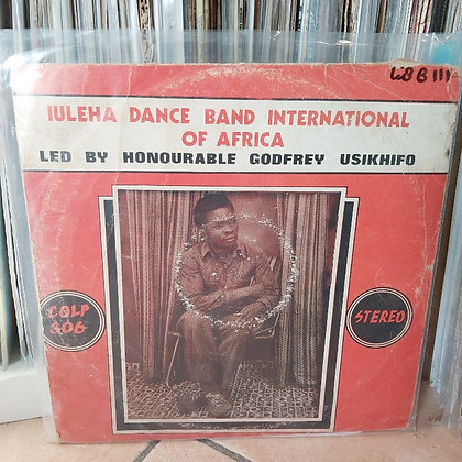 Iuleha Dance Band International Of Africa [Coconut]