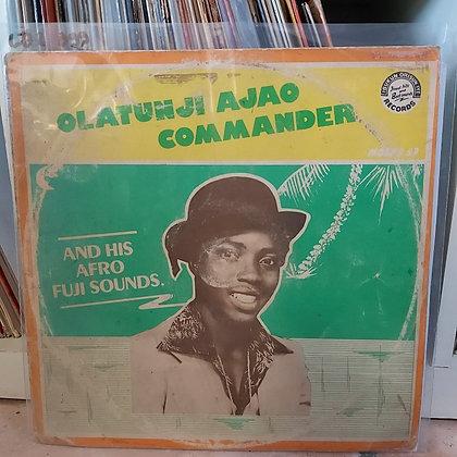 Olatunji Ajao Commander & His Afro Fuji Sounds [Ibukun Orisun]