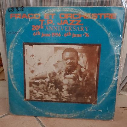 Franco Et Orchestre T.P.Jazz 20th Anniversary [BC Des]