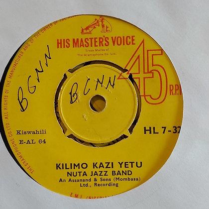 Nuta Jazz Band - Kilimo Kazi Yetu [HMV - 60's] Mzuri