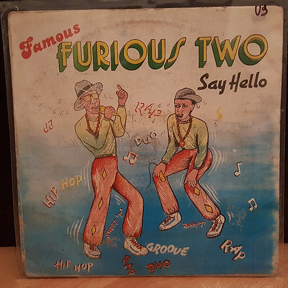 Furious Two ‎– Say Hello [ Right Time Hotel & Co. Ltd. ‎– RTH 003]