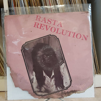 Black Moses (The Messaih) ‎– Rasta Revolution [G. B. Records ‎– GBRLP 001]