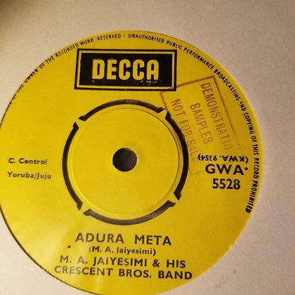 M.A. Jaiyesimi & His Crescent Bros. Band - Alhaji Omotayo Omo-Owo [Decca]