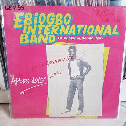 Ebigobo International Band Of Agoloma, Bendel Ijaw – Apoesololo