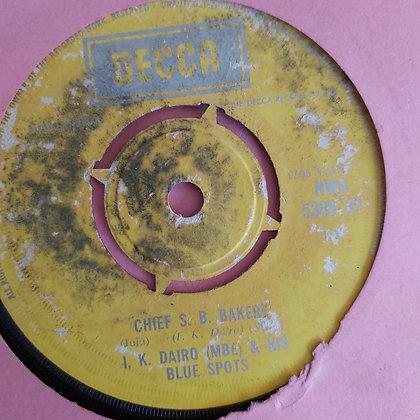 I.K.Dairo & His Blue Spot - Emi Ahun [Decca] Nwa 5388