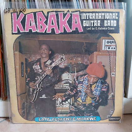 Kabaka International Guitar Band ‎– Late Florence Mbakwe [Deram]