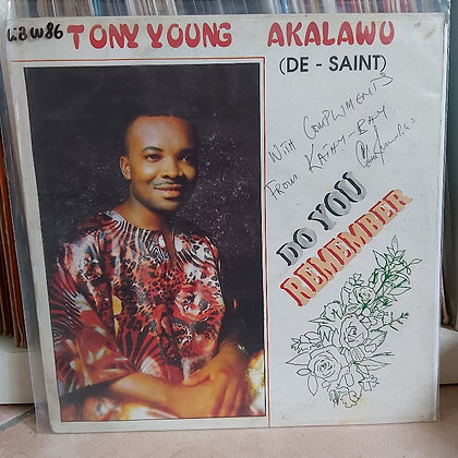 Tony Young Akalawu - Do You Remember [Kathy Bay Records]