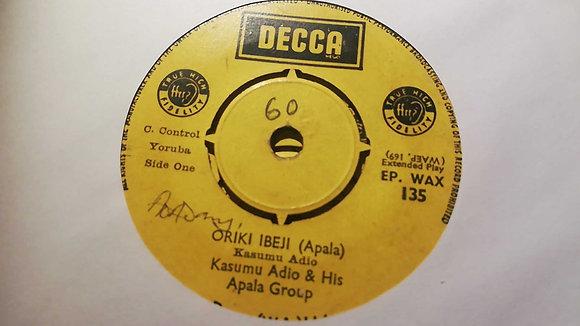 Kasumu Adjo & His Apala Group - Rere Lope (Apala) [Decca]