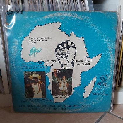 Afro Black Scorpio & His Afro Way Music - World Afro De King [Coconut]