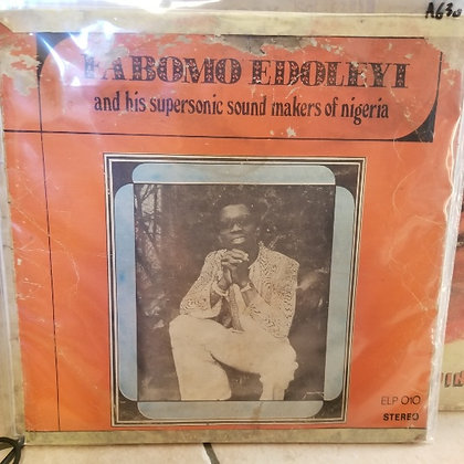 Fabomo Edoleyi And His Supersonic Sound Makers Of Nigeria [Emperor Records]