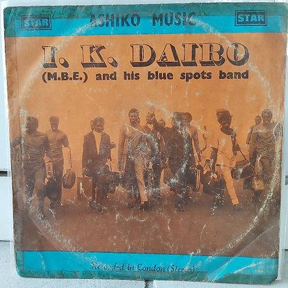 I K Dairo M.B.E. And His Blue Spot Band – Ashiko Music [Star]