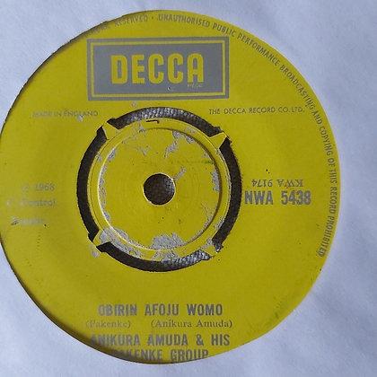 Anikura Amuda & His Pakenke Group - Obirin Afoju Womo [Decca]