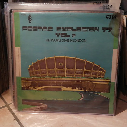 The People's Star ‎– Festac Explosion '77 Vol. 2 The People Star In London