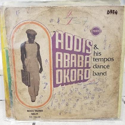 Adisababa Okoro & His Tempos Dance Band - Back In Town [Bowo]