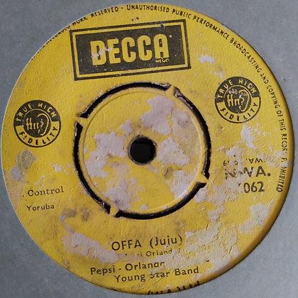 Pepsi Orlando & Young Star Band - Offa [Decca] Juju