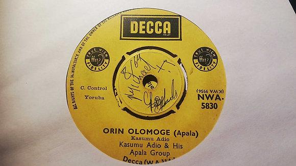 Kasumu Adjo & His Apala Group - Late Adeshewa Ogunde (Apala) [Decca]