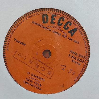 New Star Orchestra - O Kamama [Decca]