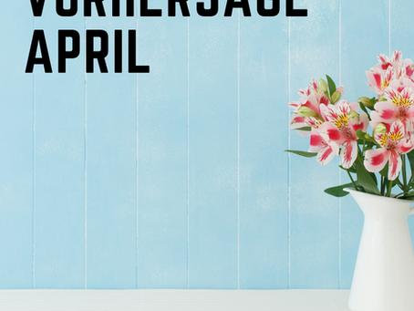 Vorhersage April