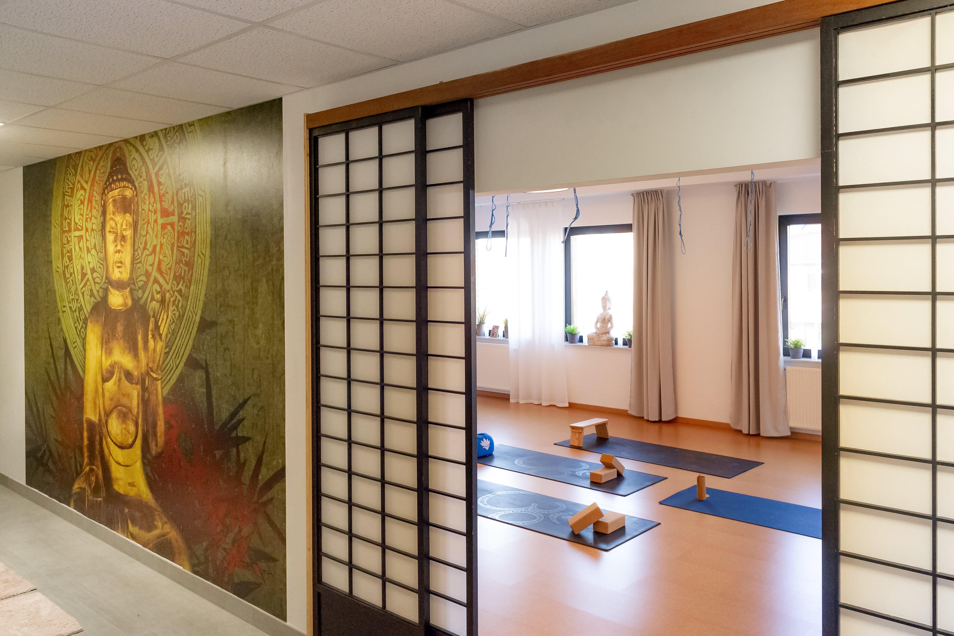 Yamida Yogaschule Lüdinghausen Eingang Y