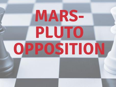 Mars-Pluto-Opposition
