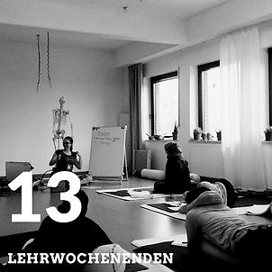 Yogalehrerausbildung an 13 Lehrwochenenden im Münsterland