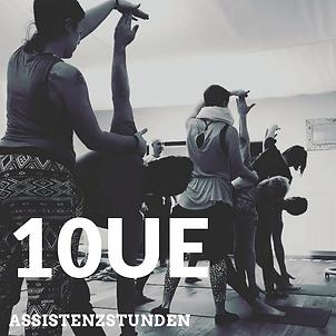 Assistenzstunden Yogalehrerausbildung