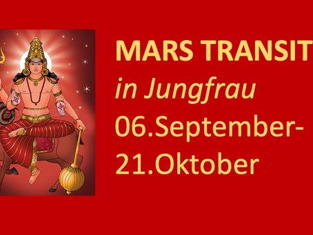 Mars Transit vom 06.09.-21.10.2021