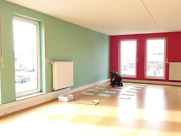 Yamida Yogaschule Lüdinghausen Wanddekor