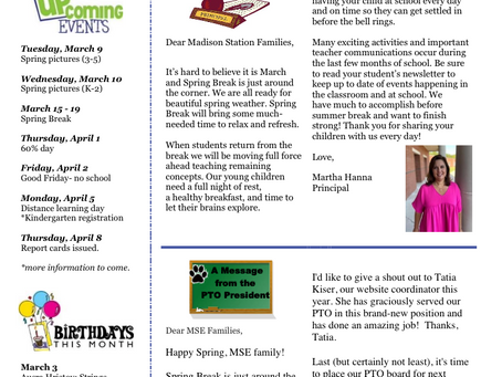 March Jag Journal