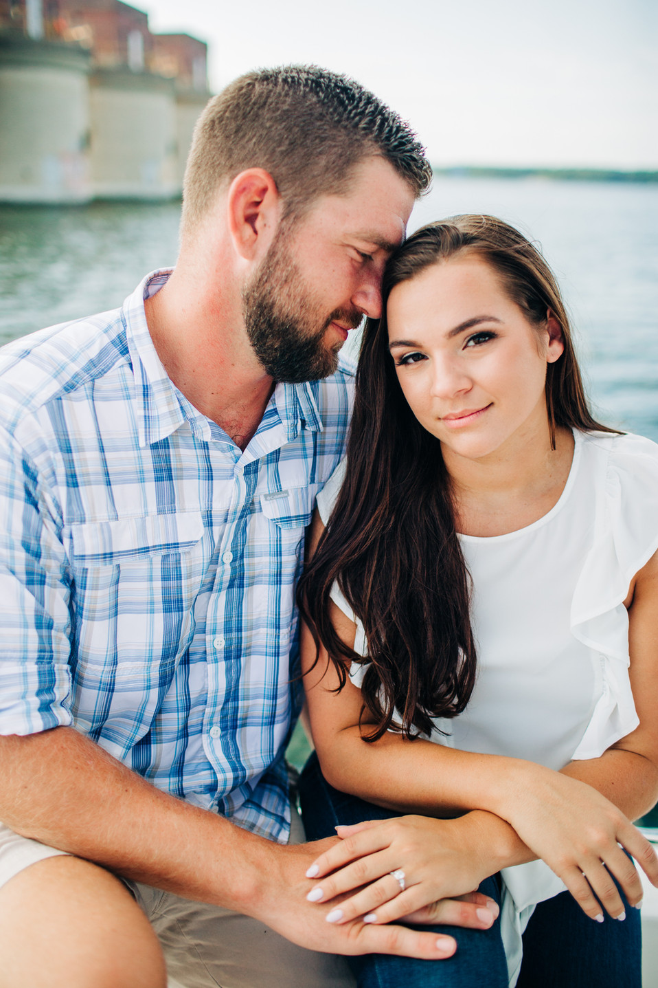 Lake Murray Engagement Photos