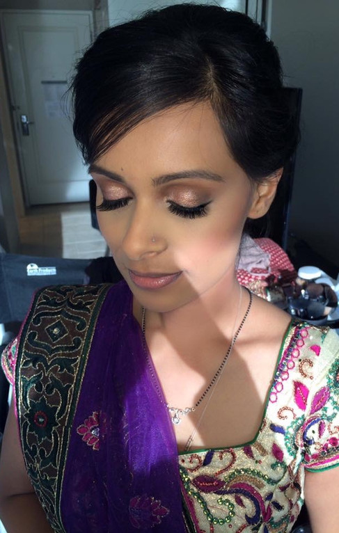South Asian Wedding Makeup - Charlotte, NC