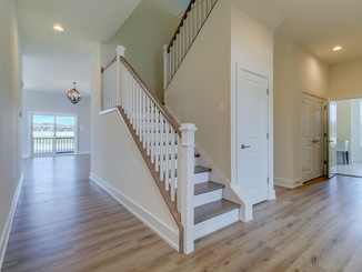 Freshly painted interior for the brand new Donovan Heritage community in Milton, DE