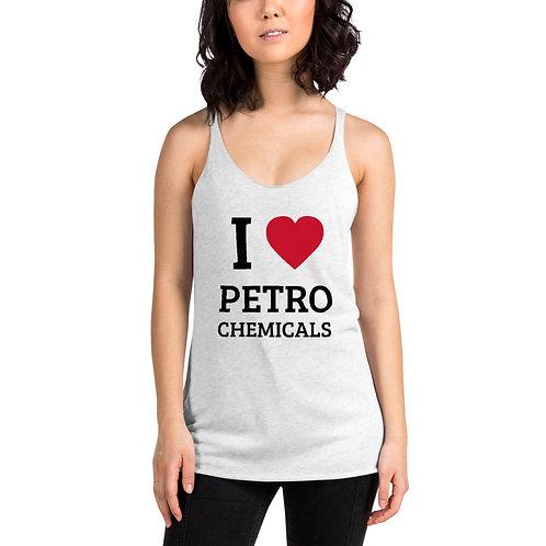 I ♥ Petrochemicals – Women's Racerback Tank