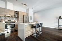 Full set for modern Canadian condominium