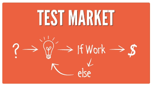 Why test markets for your product?