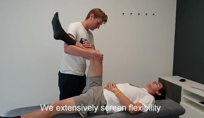 Physiotherapy Mechelen, Sportkinetics, screening, functional screening