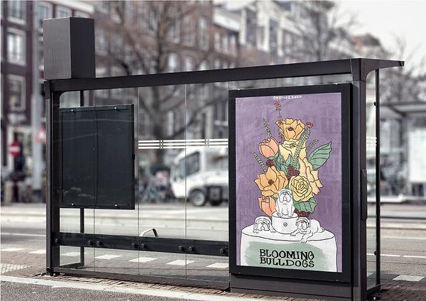 Poster at Bus stop