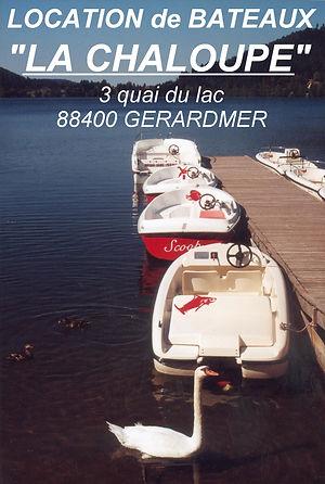 location,bateaux,gerardmer