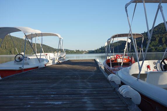 location bateaux gerardmer
