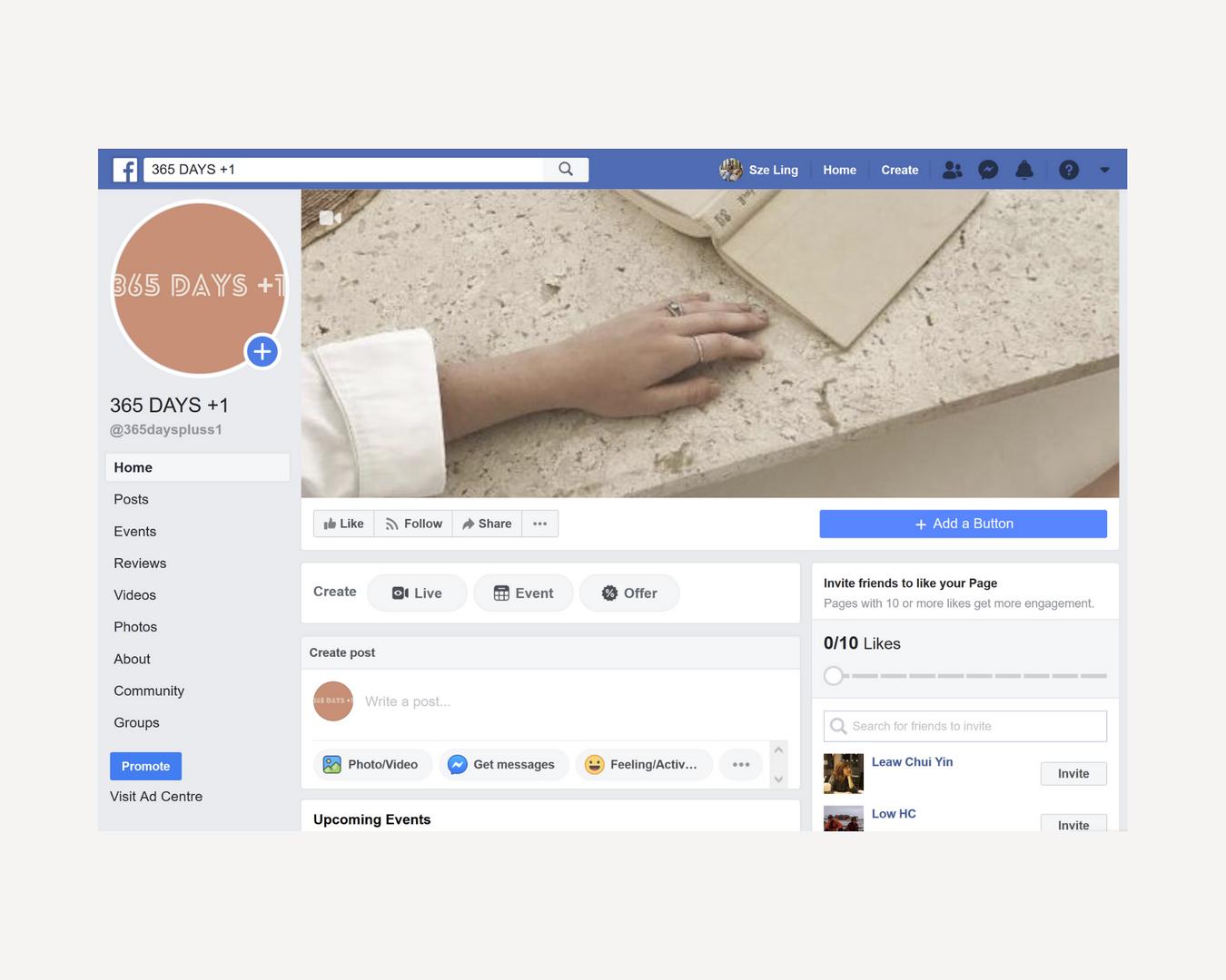 365+1 Days Facebook
