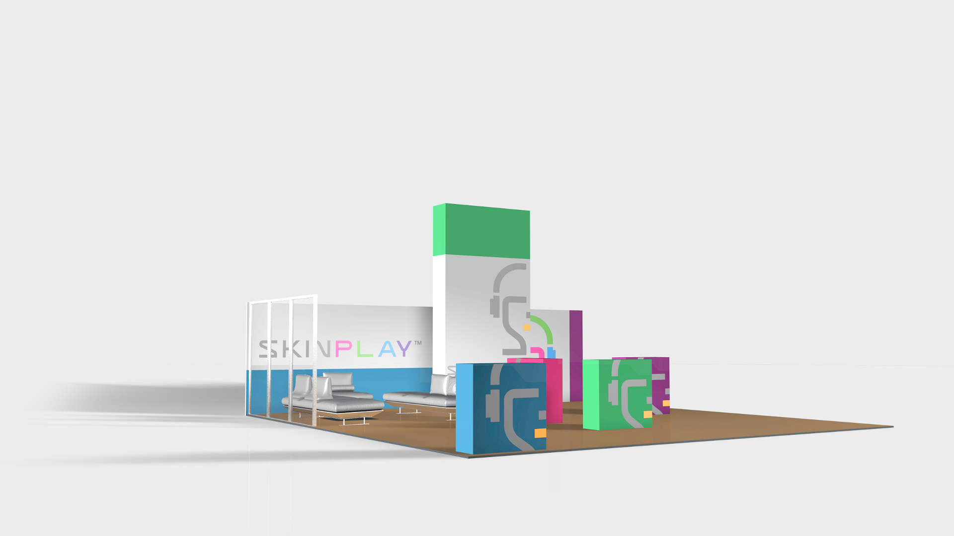 SKIN P L A Y Pop-up Booth