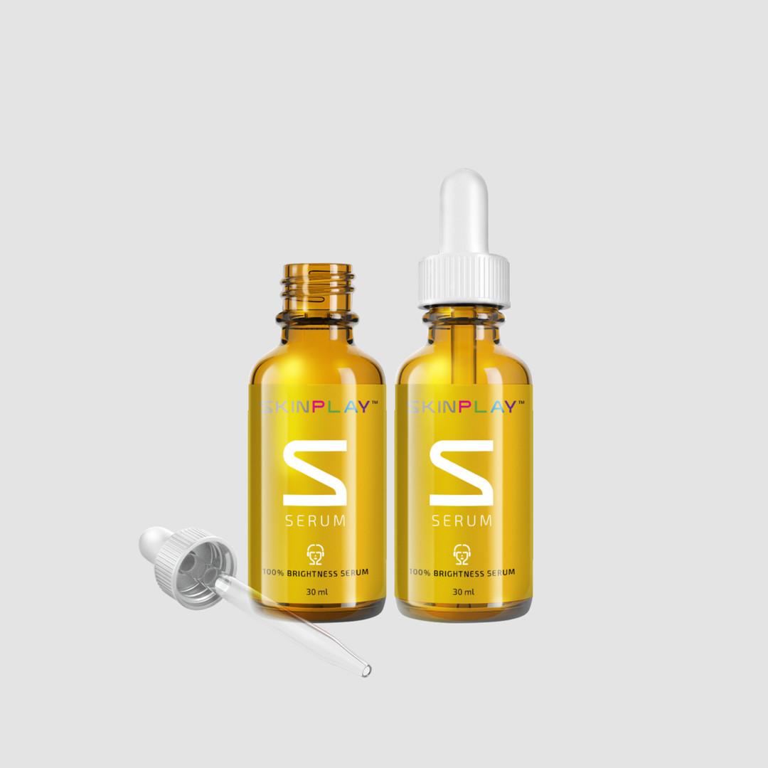 SKIN P L A Y 100% BRIGHTNESS Serum