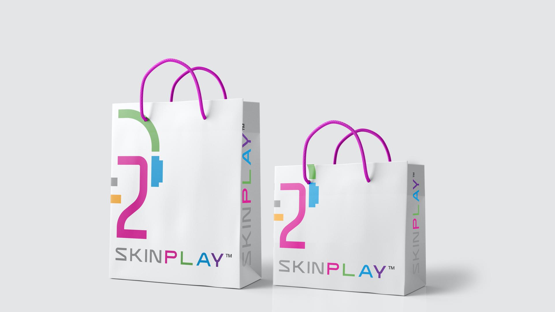 SKIN P L A Y Paper Bag