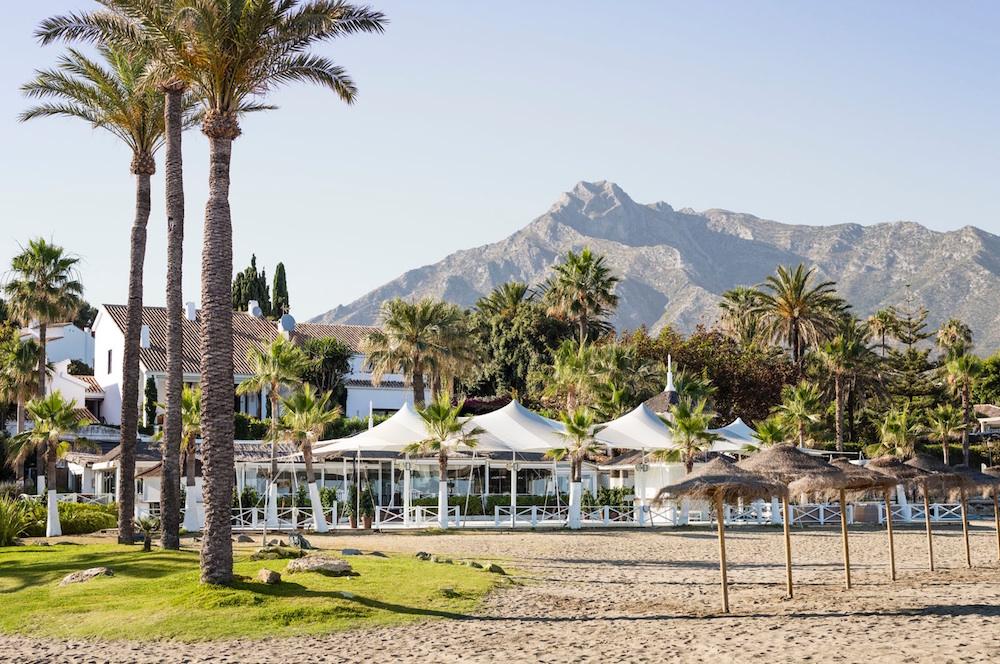 marbella beach location