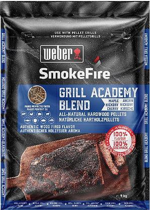 Pellet di legno - Miscela Grill Academy 9 kg