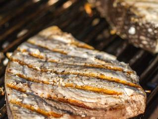 Pesce Spada al barbecue